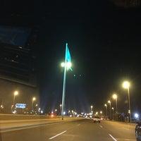Photo taken at Jeddah Flagpole by Susu Y. on 12/24/2014