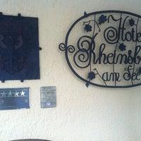 Photo taken at Hotel Rheinsberg am See by Alexander D. on 4/24/2014