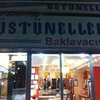 Photo taken at Üstüneller Baklavacısı by D. M. on 8/12/2013