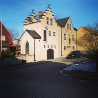 Photo taken at Varberg by Thomas B. on 3/17/2013