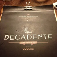 Foto tirada no(a) The Decadente por Nihat Sinan E. em 11/22/2012