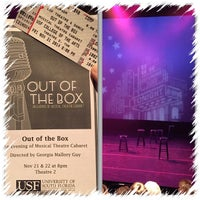 Photo taken at USF Theatre 2 by Andy V. on 11/22/2014