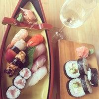 Photo taken at Kibune Sushi by Konstantin L. on 7/1/2015
