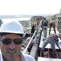 Photo taken at Bilgili Holding Corpera Şantiyesi by Mustafa T. on 8/25/2014