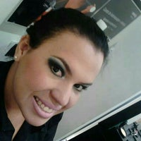 Photo taken at Gabriela Fashion Hair Make Up - Unidade Indaiatuba by Juarez B. on 3/24/2014