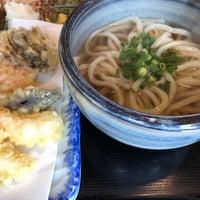 Photo taken at おうどんCafe 寳月 by Takayuki K. on 1/20/2018