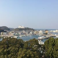 Photo taken at 新☆羽豆岬展望台 by Eiichi H. on 3/19/2017