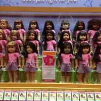 Photo taken at American Girl Place by Cathy D. on 2/6/2013