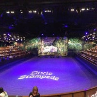 Photo taken at Dixie Stampede by Mike L. on 9/29/2012