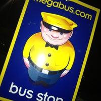 Photo taken at Megabus Bus Stop - South Side White Marsh Mall by Josue S. on 9/28/2012