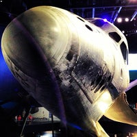 Photo taken at Atlantis Exhibit Kennedy Space Center by Kevin S. on 7/1/2013