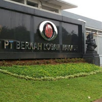 Photo taken at PT. Berkah Logam Makmur by Bowo G. on 2/12/2014