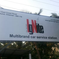 Photo taken at Ignite Multibrand Car Service Center by Ishwar P. on 11/21/2013