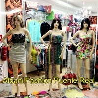 Photo taken at Albani Fashion Puente Real by Kley S. on 8/7/2013