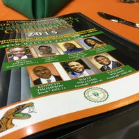 Photo taken at FAMU Al Lawson Jr Multipurpose Center by Bernice Y. on 9/25/2015