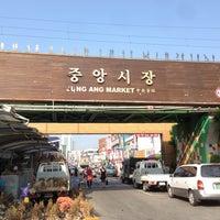 Photo taken at Gangneung Central Market by Kwangsug L. on 6/29/2013
