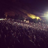 Photo taken at Red Rocks Park & Amphitheatre by Sophie R. on 5/18/2013