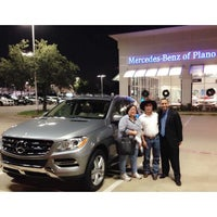Photo taken at Mercedes-Benz of Plano by Leila M. on 12/6/2014