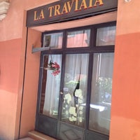 Photo taken at Osteria La Traviata by Igor S. on 8/29/2014