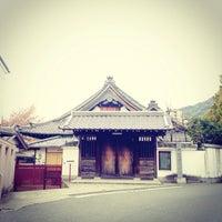 Photo taken at 祥龍寺 by ちょっきむ c. on 4/13/2014