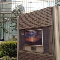 Photo taken at Osaka Bay by ちょっきむ c. on 4/21/2014