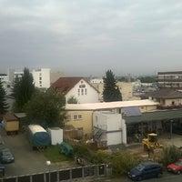 Photo taken at Turmhotel Rhein-Main by Irina R. on 9/15/2014