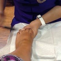 Photo taken at Tips & Toes by Loulou Kathy on 7/10/2014