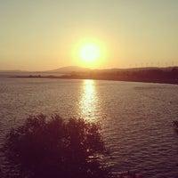 Photo taken at Perili Bay Resort by Esra G. on 7/20/2013