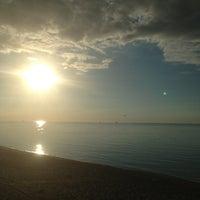 Photo taken at Пляж Финского Залива by Денис Ш. on 7/2/2013