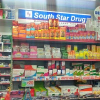 Photo taken at South Star Drug by Ellen Gail L. on 10/11/2013