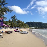 Photo taken at Patong Beach by Prajak S. on 6/30/2013