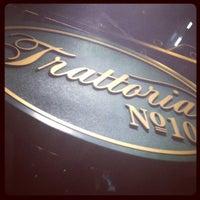 Photo taken at Trattoria #10 by Debra A. on 3/17/2013