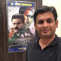 Photo taken at Inox by Anil J. on 2/20/2018