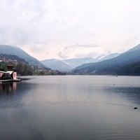Photo taken at Baselga di Pinè by Il M. on 4/13/2014