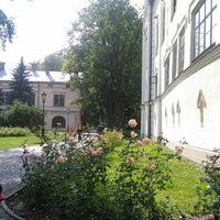 Photo taken at Zamek Habsburgów by Tristan G. on 9/15/2015