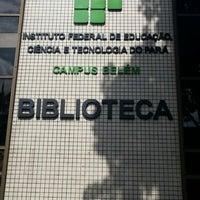Photo taken at IFPA - Instituto Federal de Educação, Ciência e Tecnologia do Pará by Fábio Machado-da-Silva on 12/27/2012
