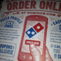 Photo taken at Domino's Pizza by Debbified D. on 10/26/2013