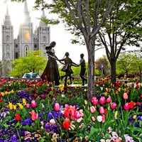 Photo taken at Temple Square by David M. on 4/20/2014