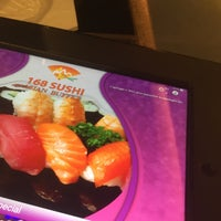 Photo taken at 168 Sushi Buffet Waterloo by Bibo L. on 4/18/2017