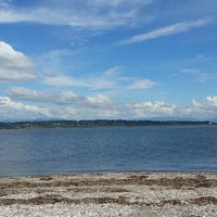 Photo taken at Blackie Spit Park by cheryl b. on 9/4/2015