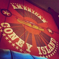 Photo taken at American Coney Island by Robin H. on 2/11/2013