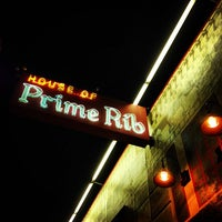 Photo taken at House of Prime Rib by Robin H. on 4/16/2013