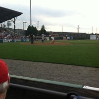 Photo taken at Williamsport Crosscutters by Julie L. on 7/26/2014