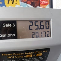 Photo taken at GetGo Gas Station by Kristi G. on 10/11/2012