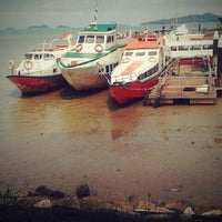 Photo taken at Anjung Batu Jetty - Melaka by ZaiZana R. on 6/8/2013