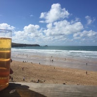 Photo taken at Fistral Beach Bar by Olga S. on 3/31/2016
