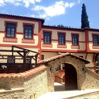 Photo taken at Αρχοντικό Ωρολογόπουλου by Aspa R. on 8/1/2013