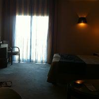 Photo taken at Aga Hotel by Karina on 8/9/2013