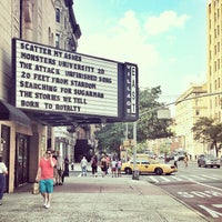 Photo taken at City Cinemas Village East by Bergdorf Goodman on 7/19/2013