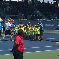 Photo taken at Taube Family Tennis Stadium by Larry K. on 8/5/2017